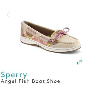 Sperry Top Sider Angelfish Sequin Boat Shoe 9.5